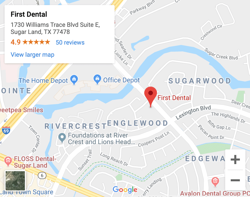 dentist Sugar Land tx
